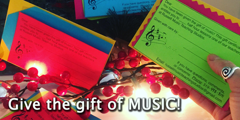 Give the Gift of Music! Holiday Deals!